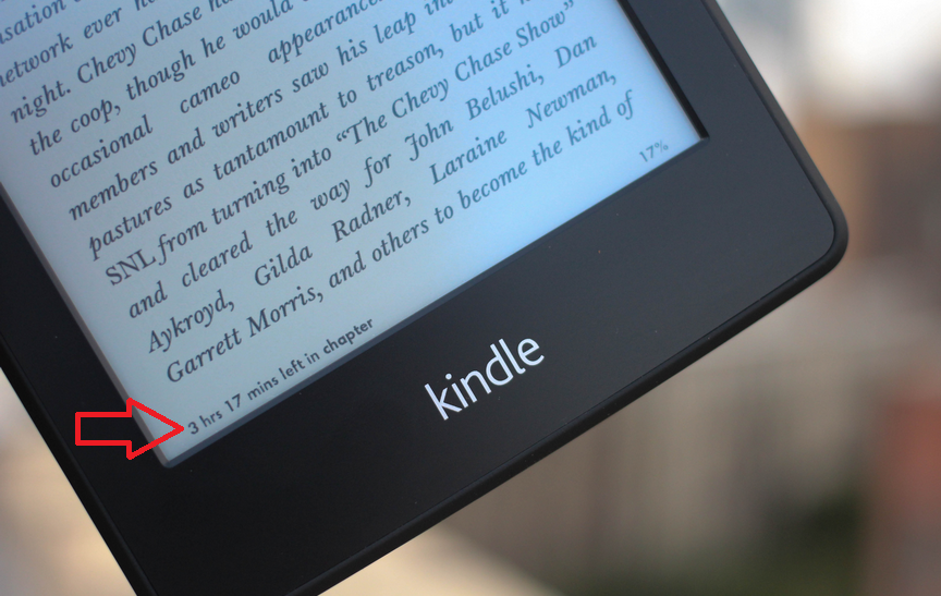 how to read footnotes on kindle paperwhite